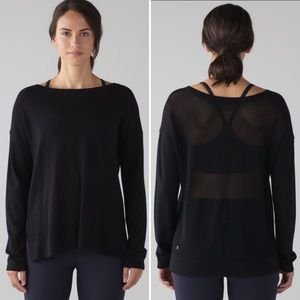 Lululemon Well Being Sweater Pullover Crew Neck